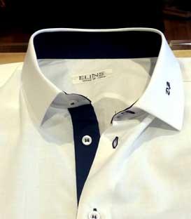 monogramma camicia su misura