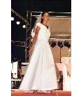 abito semplice da sposa bianco - Elins sartoria su misura